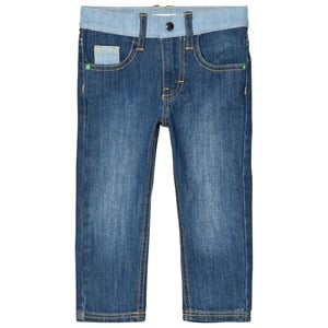 Image of Billybandit Blue Contrast Detail Jeans 10 years (3039914905)