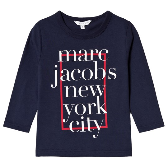 Little Marc Jacobs Navy Tee with Red Branding 85V