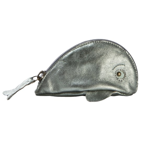 Easy Peasy Baleine Whale Purse Green Metallic 070