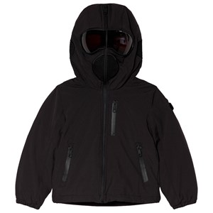 Bilde av Ai Riders On The Storm Black Insulated Padded Goggle Hood Coat 12 Years