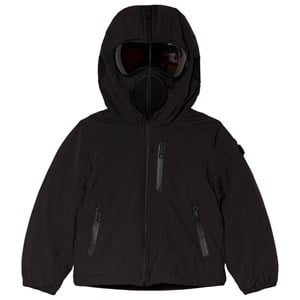 Image of AI Riders on the Storm Black Insulated Padded Goggle Hood Coat 10 years (3040603985)