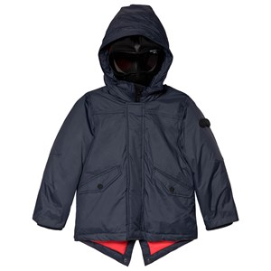 Image of AI Riders on the Storm Navy Padded Goggle Parka 12 years (3040604423)
