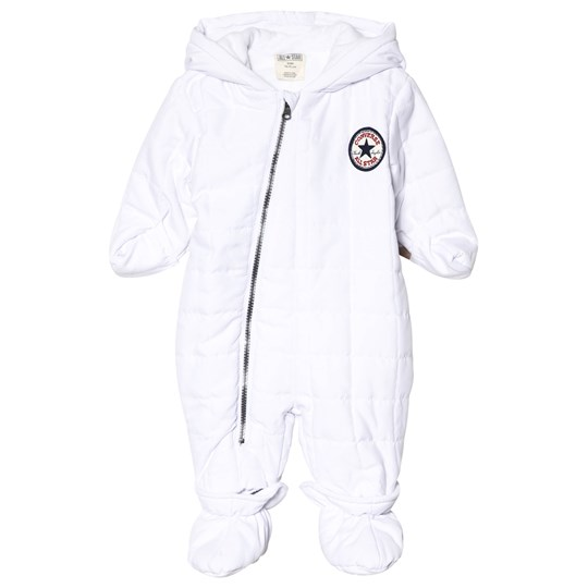 Converse White Branded Snowsuit 001 WHITE