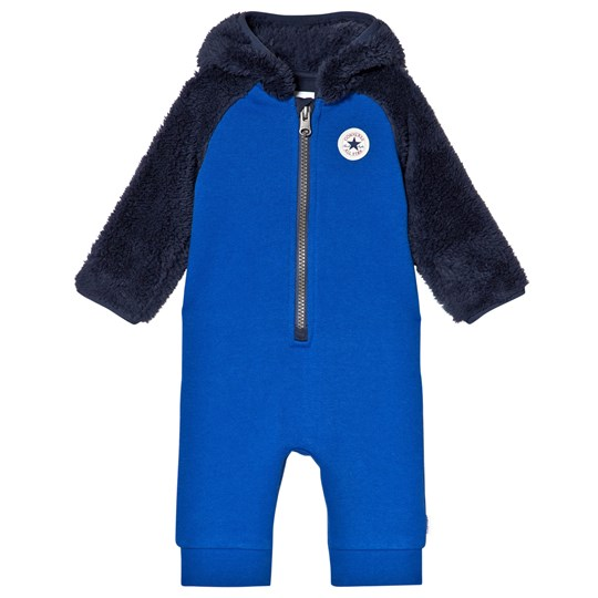 Converse Blue and Navy Fleece Branded One-Piece U3H Laser Blue