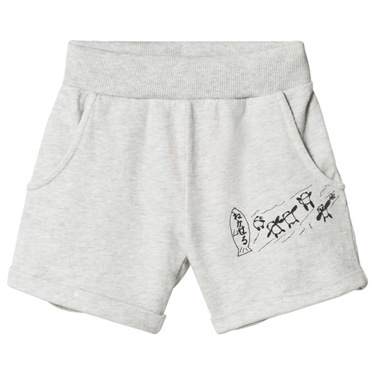 Bobo Choses W.I.M.A.M.P. Shorts Grå HIGH-RISE