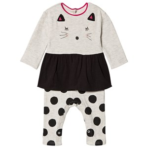 Image of Catimini Grey Cat One-Piece 18 months (1137254)