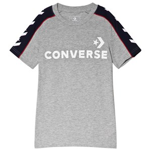 Image of Converse Grey Branded Track Tee 13-15 years (3040604233)