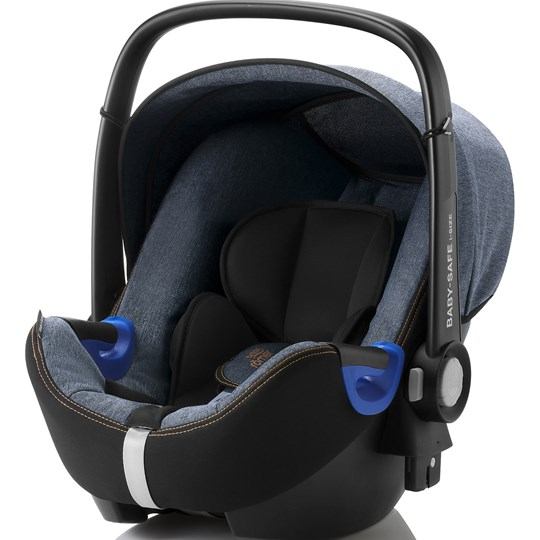 Britax BABY-SAFE i-Size Babyskydd Blue Marble Blue Marble