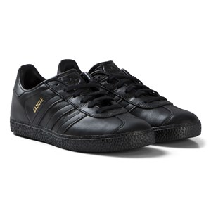 Image of adidas Originals All Black Gazelle Sneakers 36 (UK 3.5) (3058498047)