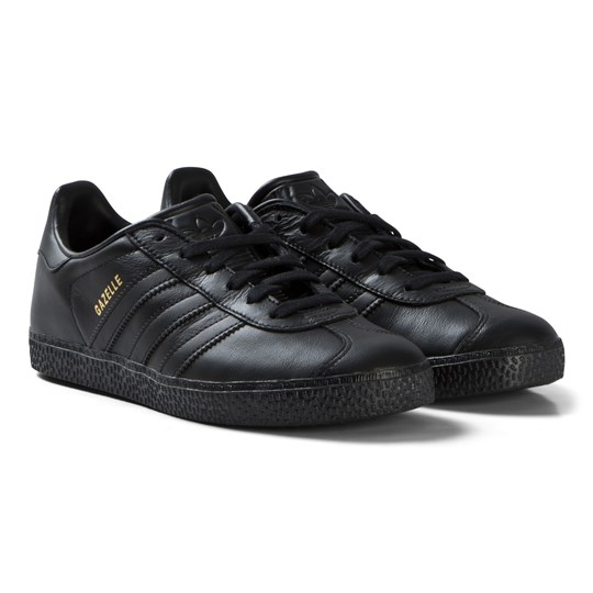 adidas Originals All Black Gazelle Sneakers CORE BLACK/CORE BLACK/CORE BLACK