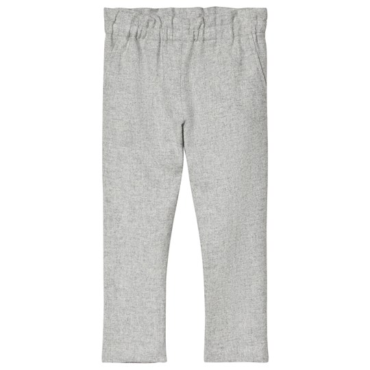 Bonpoint Grey Twill Wool Pants 092