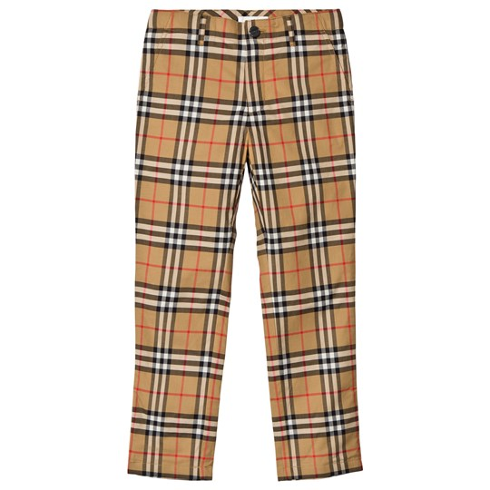Burberry Check Teo Pants Antique Yellow ANTIQUE YELLOW