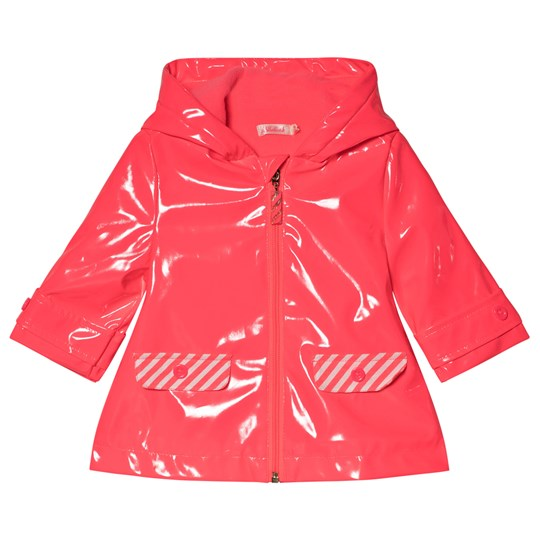 Billieblush Pink Hooded Raincoat 499