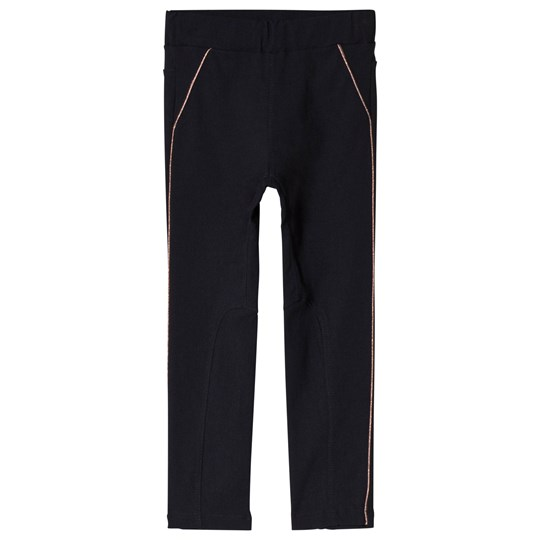 IKKS Navy and Rose Gold Pants 48