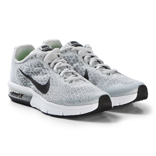 NIKE White Air Max Sequent 2 Running Shoe