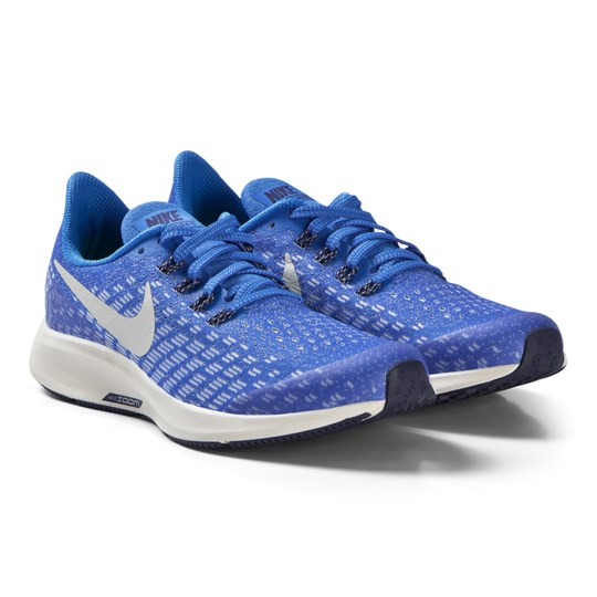 NIKE Blue Air Zoom Pegasus 35 Performance Sneakers