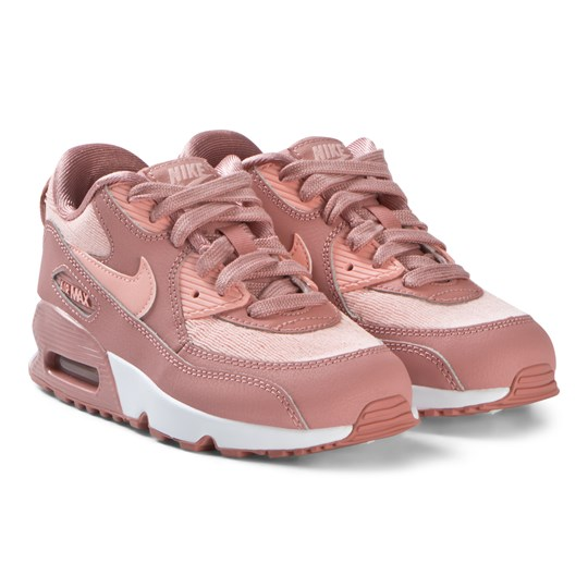 NIKE Pink Air Max 90 Mesh Shoes 601