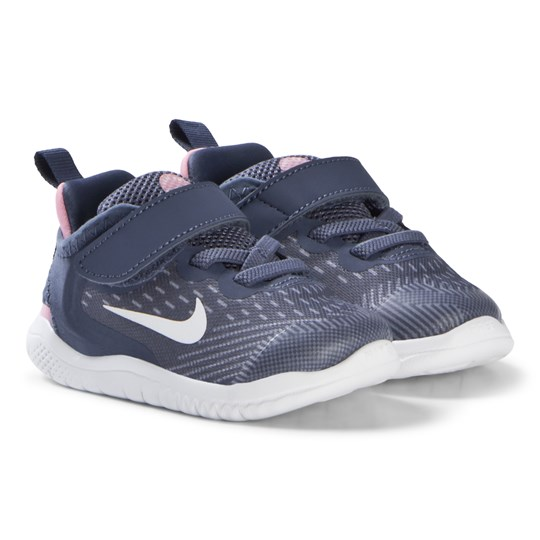 NIKE Diffused Blue Free Run Infants Shoes 402