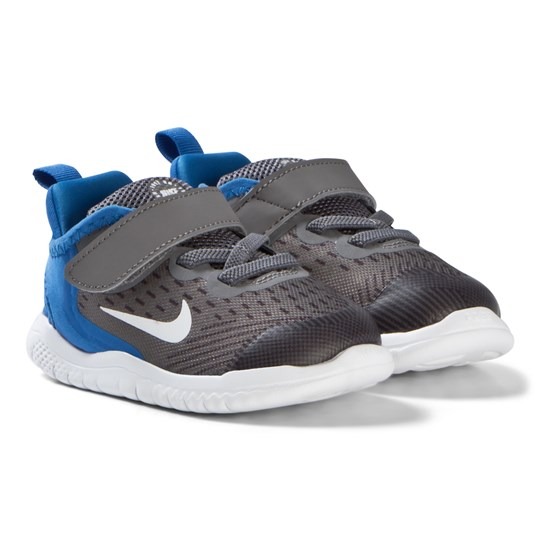 NIKE Blue and Grey Free Run Infants Shoes 005