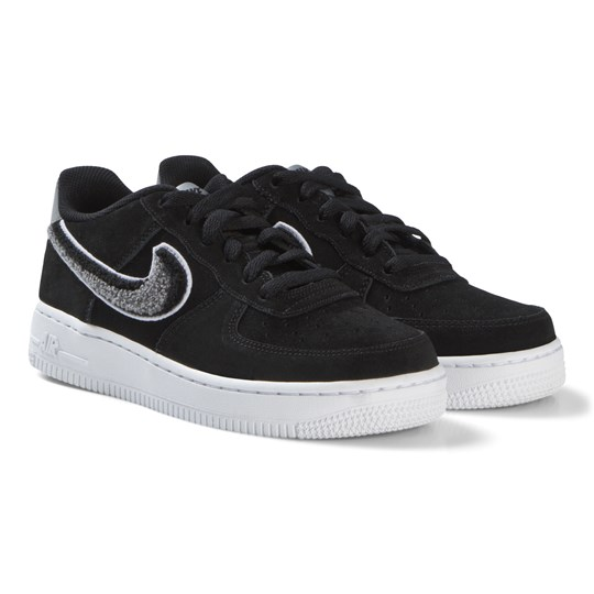 NIKE Black Air Force 1 LV8 Shoes 001