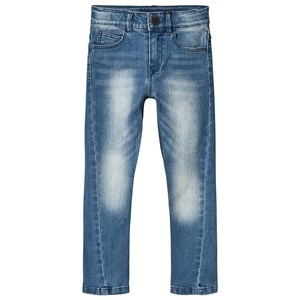 Image of IKKS Blue Twisted Jeans 10 years (3056095957)