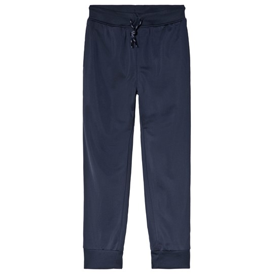 Converse Navy Tricot Taping Track Sweatpants 695-OBSIDIAN