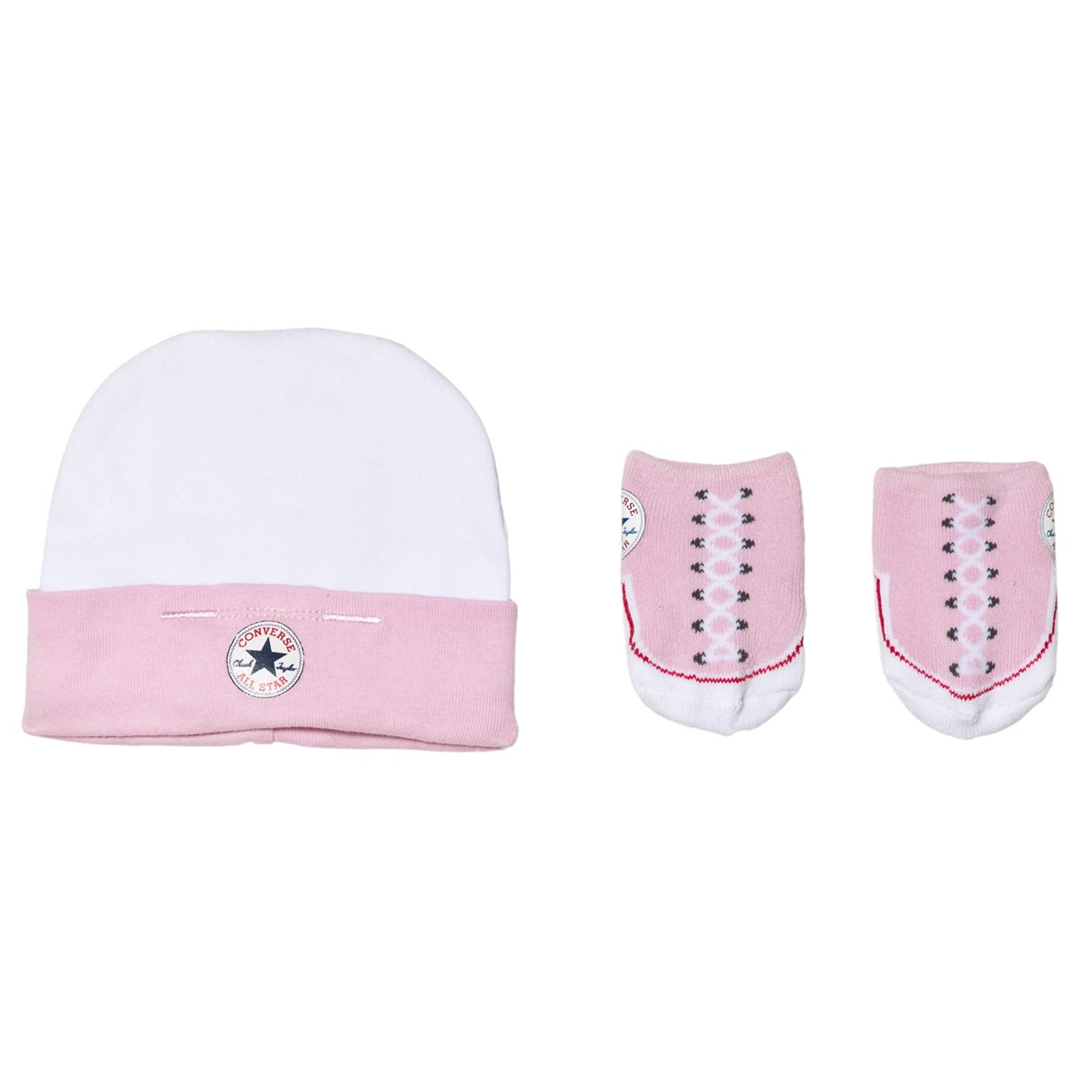 Converse - Pink Hat and Booties Set - Babyshop.com 466a348314