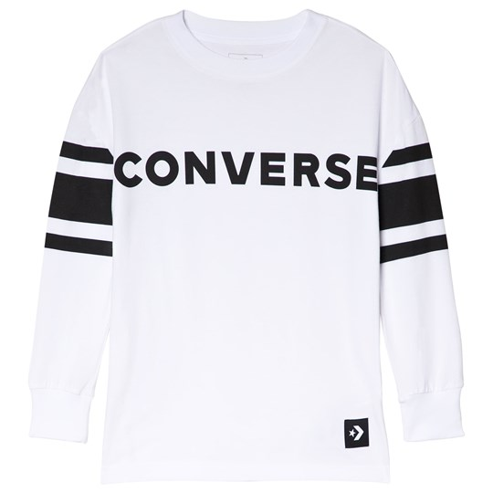 Converse White Football Sweatshirt 001-WHITE