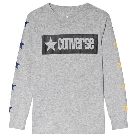 Converse Black Vintage Star Taped Long Sleeve Tee 023-BLACK