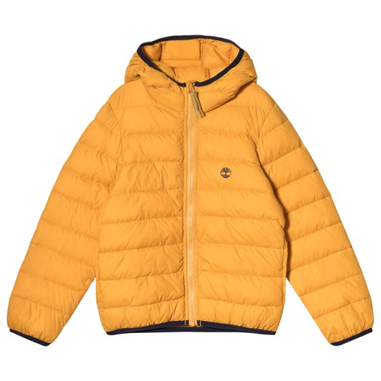 Timberland Mustard Lightweight Packaway Water Repellent Coat 511