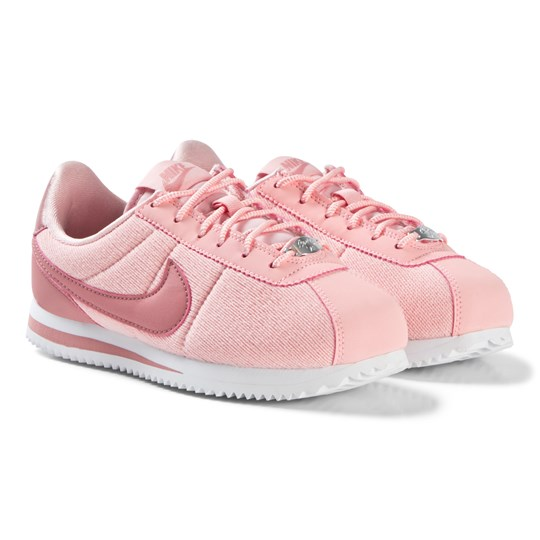 NIKE Pink Nike Cortez Basic Text SE Shoe 600