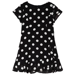 Image of Bardot Junior Black and White Spot Dress 10 years (3056068301)