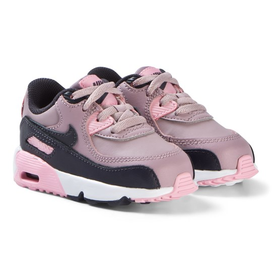 NIKE Pink Air Max 90 Mesh Infants Shoes 602