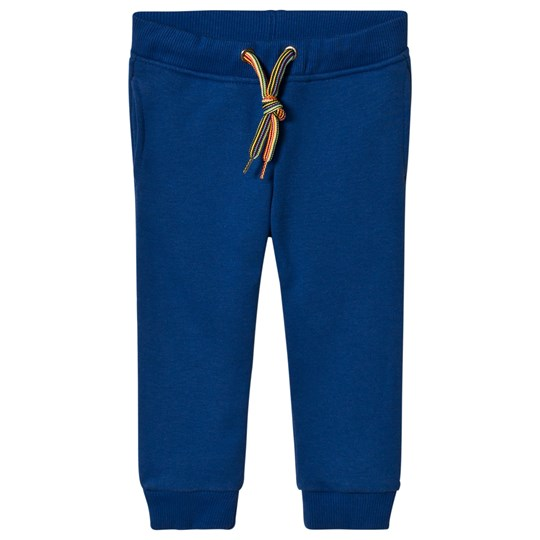 Paul Smith Junior Blue Zebra Badge Sweat Pant Blue