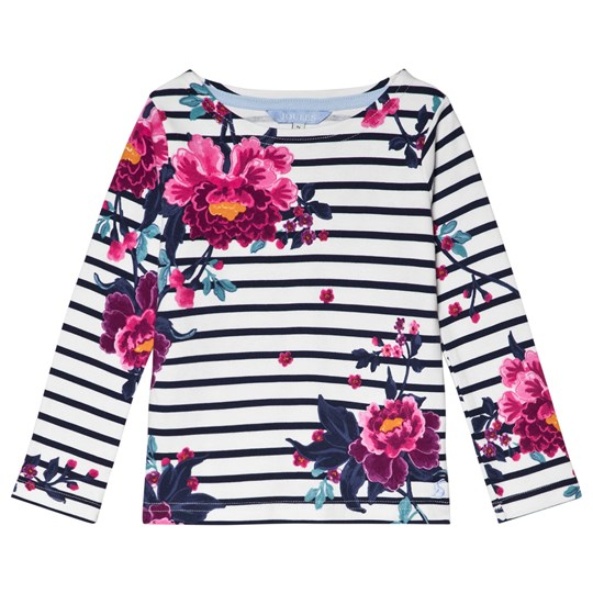 Tom Joule Stripe and Floral Harbour Long Sleeve Tee STRIPE CHINOISE FLORAL