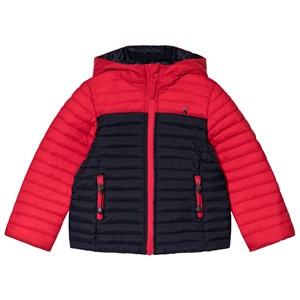 Image of Tom Joule Red Cairn Padded Pack Away Coat 1 year (3056081963)
