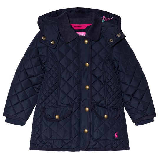 Tom Joule Navy Newdale Hooded Quilted Jacket French Navy