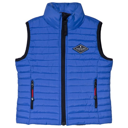 Tom Joule Blue Crofton Padded Gilet Dazzling Blue