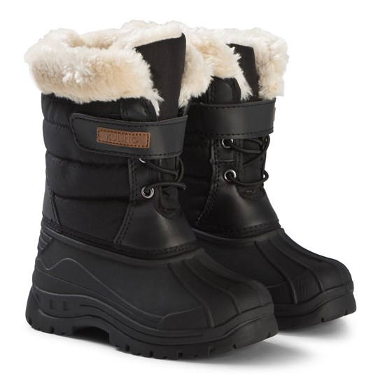 Kuling Chatel Winter Boots with Faux Fur Black Black