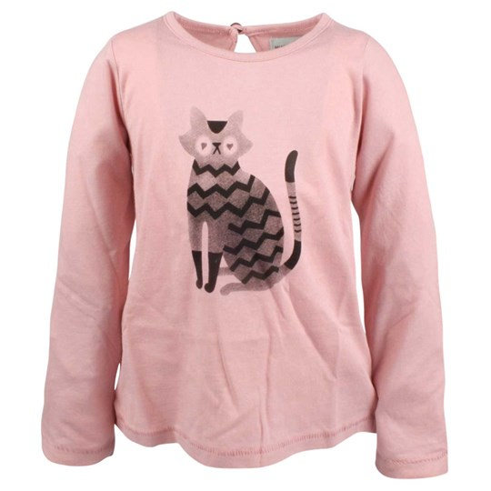 Mini A Ture Cat Blouse Dusty Rose Pink