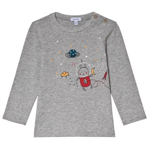 Image of Absorba Grey Astronought Bunny Tee 3 months (1113548)