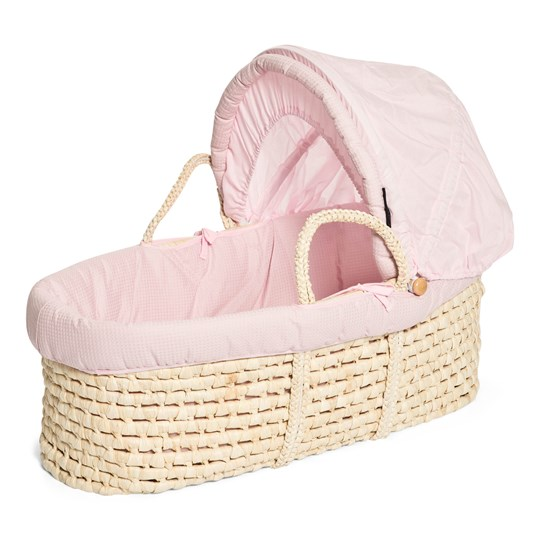 Carena Vassvik Moses Basket Light Pink