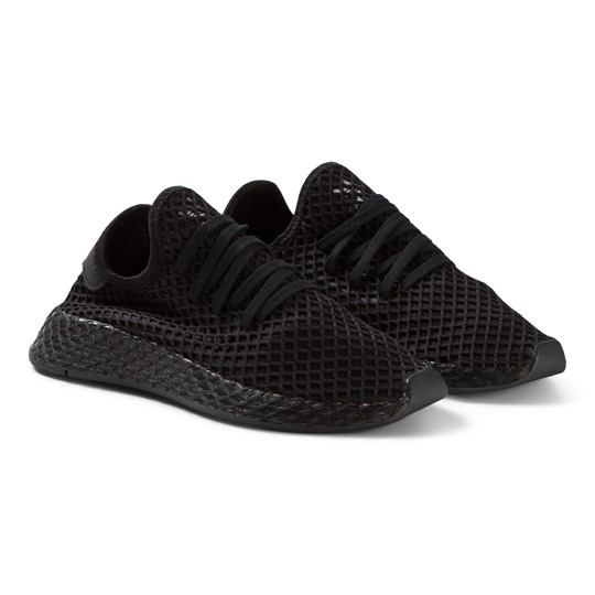 online store 3f972 246af adidas Originals Deerupt Runner Sneakers Svart CORE BLACKCORE BLACKFTWR  WHITE