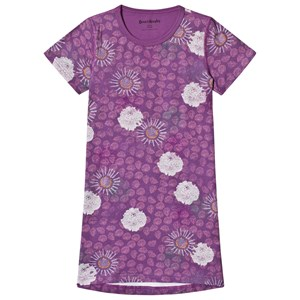 Image of Beau & Rooster Purple Flower Beach Dress Crushed Grape 110/116 cm (3056088405)