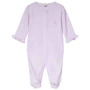 Image of Kissy Kissy Pink Premier Ballet Embroidered Detail Footed Baby Body 0-3 months (3056092155)