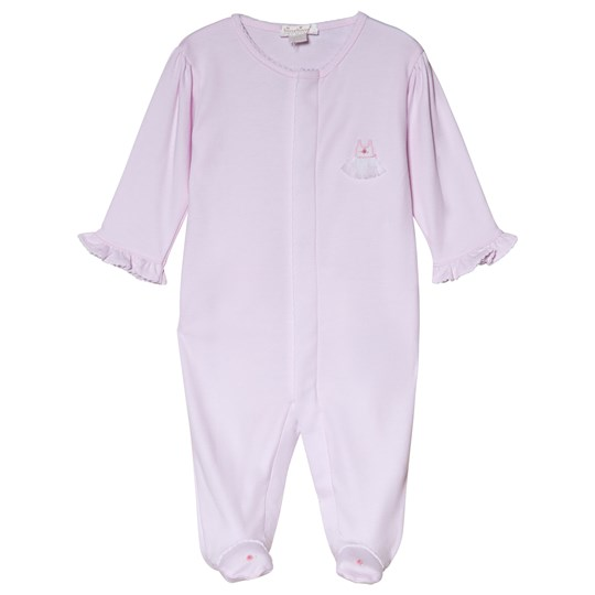 Kissy Kissy Pink Premier Ballet Embroidered Detail Footed Baby Body PINK PREMIER BALLET
