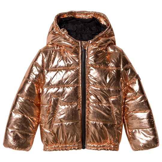 36d61d546 Kenzo - Rose Gold Puffer Coat - Babyshop.com