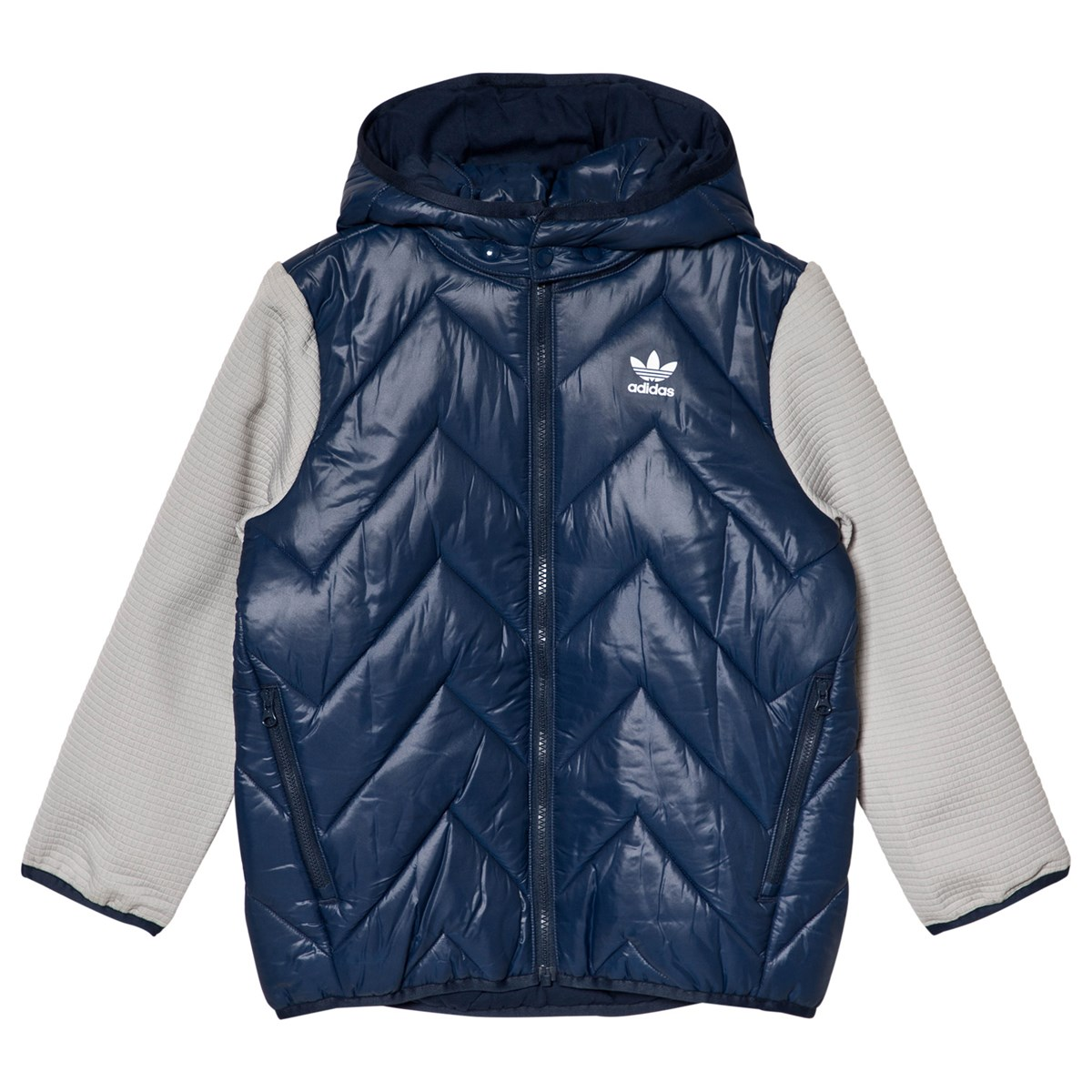 adidas Originals Logo Polstret Jakke Navy Babyshop.no