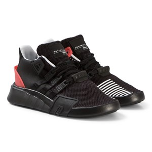 Image of adidas Originals Black and Red EQT Bask ADV Sneakers 32 (UK 13.5) (3056114061)