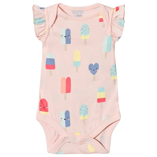 GAP Pink Cameo Flutter Baby Body Pink Cameo